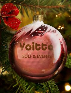 Feliz Navidad! Merry Christmas! Joeux Noël! #golf #voitto #golfball
