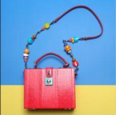 Color-pop accessories to die for at #mytheresa #baglove #covetme