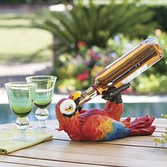 Cancun Carouser Bottle Holder perfect for the Margaritaville party this summer ♥