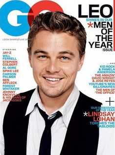 The GQ of the featuring Tom Brady, Leonardo DiCaprio, Kanye West, Jennifer Aniston, and Barack Obama.