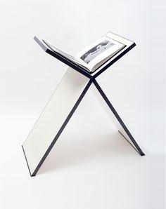 Assouline Makes the Perfect Pedestal Book Stand-Wmag Book Display Stand, Book Stands, Book Installation, Laser Cut Patterns, Assouline, Hunter Douglas, Cool Books, Art Furniture, Book Design