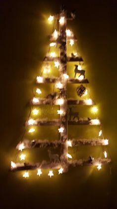 Kerstboom...eigen werk. 🌲