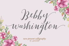 Bebby Washington (40% Off) by Genesis Lab on @creativemarket