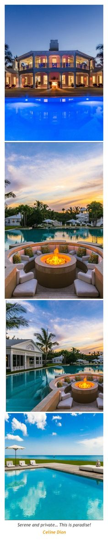 Celine Dion's Former Mansion  Luxury Mansions+Estates #Luxurydotcom