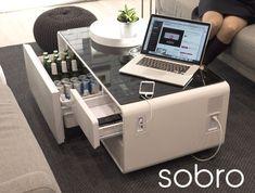 La Sobro Cooler Coffee Table es una mesa inteligente que ha sido creada para complementar la creciente demanda de nuestra era digital. I...