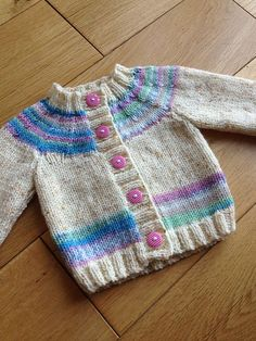 "Ravelry: Cardigan pattern by Sirdar Spinning Ltd. ""Ravelry: Cardigan pattern by Sirdar Spinning Ltd."", ""Ravelry: Project Gallery for Little Coffee Bean Baby Cardigan Knitting Pattern Free, Kids Knitting Patterns, Baby Sweater Patterns, Knitted Baby Cardigan, Knit Baby Sweaters, Knitted Baby Clothes, Cardigan Pattern, Knitting For Kids, Girls Sweaters"