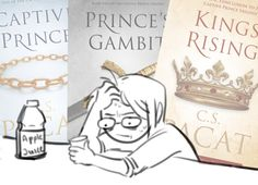 bkyngw:this series kicked my ass Good Books, Books To Read, My Books, Fanart, Captive Prince, Little Library, Classic Literature, Book Reader, Book Fandoms