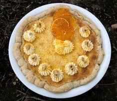 I made you another birthday (orange cake pie) pi, Albert Einstein!