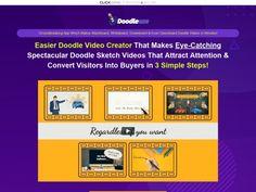 Promote #1 Doodle Video Creator Simple Doodles, Doodle Sketch, Promotion, The Creator, Marketing, Doodle Art Simple