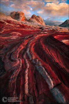 Planet Crimson, Coyote Buttes, Arizona
