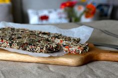 Raw Superfood Energy Bars. Recipe:http://theholisticingredient.com/2013/10/21/raw-superfood-seed-bars/