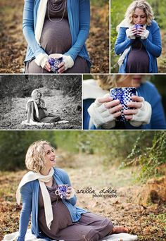 Hot chocolate maternity session by Stella Dolce Photography | www.stelladolcephotography.com