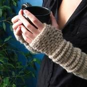 Warm My Arms Slouch - via @Craftsy   Teresa Ritz I am thinking just for you, what do you think?