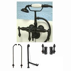 Clawfoot Tub Faucet (Oil Rubbed Bronze) - Overstock™ Shopping - Great Deals on Bathroom Faucets