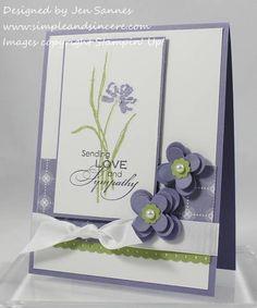 Love & Sympathy by stamperjen0 - Cards and Paper Crafts at Splitcoaststampers