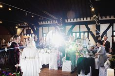 York Hospitium Wedding, with a large dash of 1960's rock'n'roll.