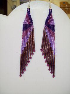 bugle earrings