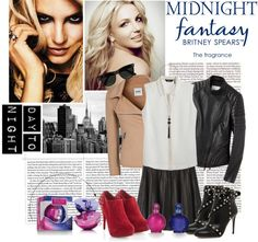 """Day to Night Fashion with Britney Spears™ fantasy twist"" by safe-and-sound ❤ liked on Polyvore"