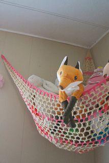 Ravelry: Stuffed Animal Storage Hammock - CROCHET PATTERN