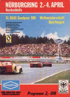 Programme of the 1976 ADAC Goodyear 300 Race