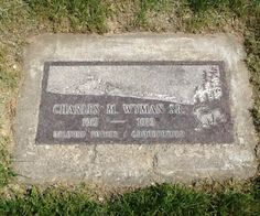 Charles M. Wyman, Sr