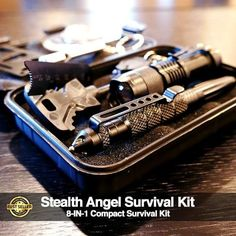 Stealth Angel Survival is the premier site for outdoors, camping, hiking, adventure and survival equipment, emergency preparedness kits and disaster supplies. Survival Knife, Survival Prepping, Survival Gear, Survival Skills, Survival Hacks, Survival Equipment, Survival Weapons, Survival Quotes, Doomsday Survival