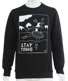 BY PARRA - CREW NECK STAY YOUNG (BLACK) http://www.raddlounge.com/?pid=87164915 * all the merchandise can be purchased by Paypal :) www.raddlounge.com/ #streetsnap #style #raddlounge #wishlist #stylecheck #fashion #shopping #unisexwear #womanswear #clothing #wishlist #brandnew #rockwell #byparra #parra