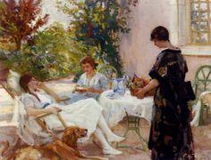 Teatime, Paul Michael Dupuy