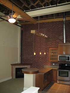 How to hang lights