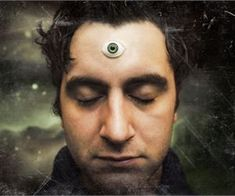 """The third eye is defined as """" the gateway to higher consciousness ."""" It is believed that the pineal gland, or third eye, supposedly a. Out Of Body, Pineal Gland, Lead The Way, Higher Consciousness, Human Soul, Third Eye, How To Memorize Things, Connect, Tatoo"""