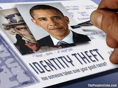 Identity Theft Obama Card