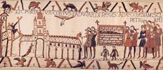 Kingship-in-Death in the Bayeux Tapestry :http://www.medievalists.net/2016/10/16/kingship-in-death-in-the-bayeux-tapestry/