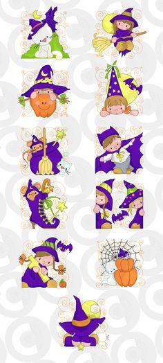 Clipartopolis.com - Digitizer's Heaven Halloween Clipart, Halloween Stickers, Halloween Cards, Holidays Halloween, Halloween Painting, Halloween Ghosts, Halloween Illustration, Cute Illustration, Sweet Drawings