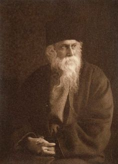 Portrait of Rabindranath Tagore by Fearon Halliday, 1920s (NPG. London)