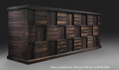 """Our #TRIBECA #sideboard will be present in """"CASA RETRÒ"""", a special event coordinate by Barbara Villari upcoming edition of #MACEF (Milan 24/27 January Hall 3 - stand A11)"""
