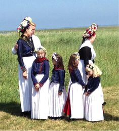 Danish traditional dress.