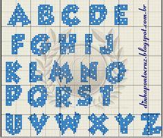 alfabeto galinha pintadinha ponto cruz - Pesquisa Google