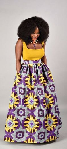 SALE Debbie Maxi Skirt African print skirt. Ankara | Dutch wax | Kente | Kitenge | Dashiki | African print bomber jacket | African fashion | Ankara bomber jacket | African prints | Nigerian style | Ghanaian fashion | Senegal fashion | Kenya fashion | Nigerian fashion  (affiliate)