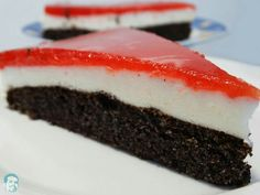 poppy strawberry cake