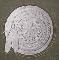 The official Cherokee Nation seal. Cherokee Indian Women, Native American Cherokee, Native American Beauty, Native American Tribes, Native American History, Native Indian, Native Americans, American Symbols, Cherokee Tribe