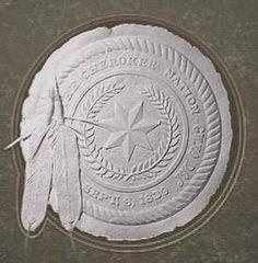 The official Cherokee Nation seal. Cherokee Indian Women, Native American Cherokee, Native American Beauty, Native American Tribes, Native Indian, Native American History, Native Americans, American Symbols, Cherokee Tribe
