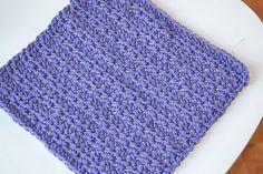 Crochet in Color: Dishcloth Pattern  http://crochetincolor.blogspot.com/2012/03/stripey-spring-rug-instructions.html