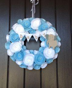 Baby Wreath  Nursery Wreath by LoveWreaths on Etsy, $51.00