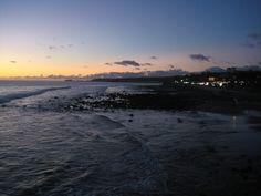 Sunset near lighthouse, Maspalomas, 2009.