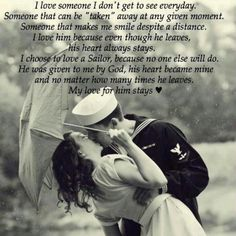He was mine before the Navy had him <3 Proud navy girlfriend<3