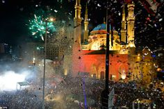 Happy New Year 2020 Around the World – Part 1 – Daily Mail Happy New Year Everyone, Happy New Year 2020, Parthenon, Acropolis, People Around The World, Around The Worlds, Brandenburg Gate, World Cities, Champs Elysees