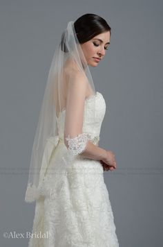 Hey, I found this really awesome Etsy listing at http://www.etsy.com/listing/73410906/mantilla-bridal-wedding-veil-ivory-elbow