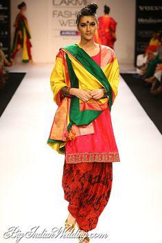 Gaurang Shah at Lakme Fashion Week 2012
