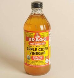 Apple cider vinegar is a great way to control oil and calm rosacea