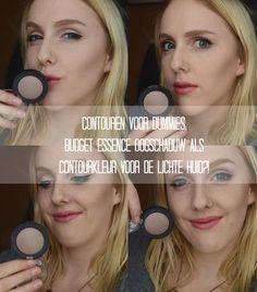 Contouren voor Dummies: Budget Essence oogschaduw als contourkleur voor de lichte huid (NYX Taupe dupe?)